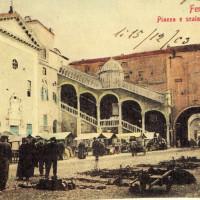 Cartolina della Piazza Municipale, 1903