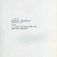 """Centro Gramsci, Ferrara, copertina della dispensa sull'incontro con Diego Novelli: """"I valori dell'uomo nella crisi della città industriale"""", tenutosi a Ferrara il 7 aprile 1978"""