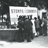 Il banchetto della stampa comunista, Modena, 1946 [ISMO, AFPCMO]