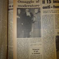 Dozza e Lercaro su l'Unità del 9 agosto 1965