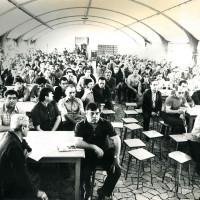 Comizio di Rinaldo Scheda alla Berco, 17 maggio 1979