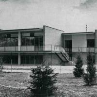 1962. Santarcangelo di Romagna. La sede del PCI santarcangiolese