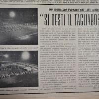 Articolo sullo spettacolo del 1952  [La Verità, 23 agosto 1952]