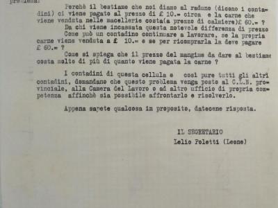 Partito comunista italiano – PCI.  Sezione di Sant'Ilario d'Enza
