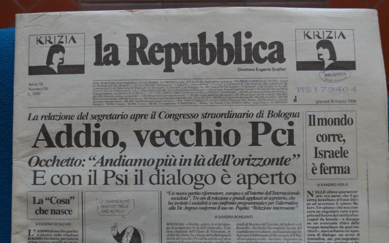 Palasport di Bologna – XIX Congresso del PCI
