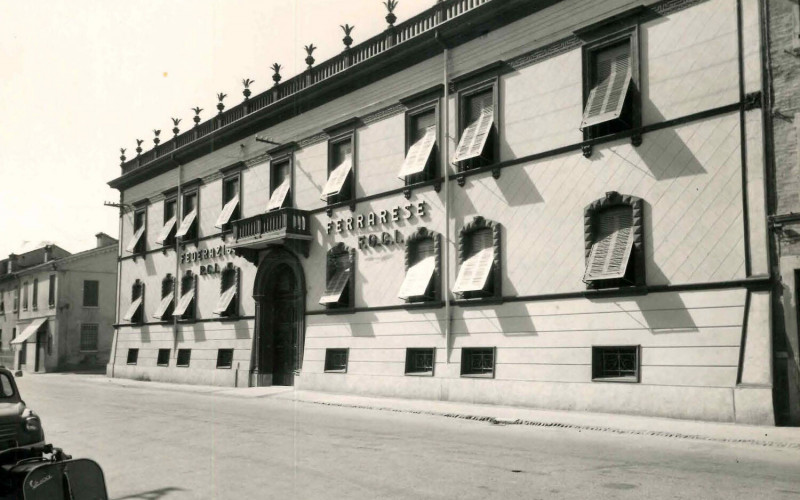 Ferrara, sede della Federazione provinciale comunista