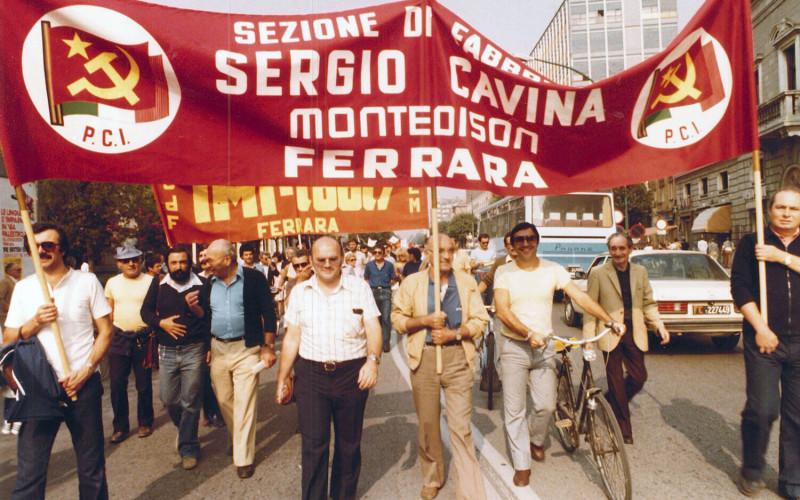 """Sezione di Fabbrica """"Sergio Cavina"""" della Montedison"""
