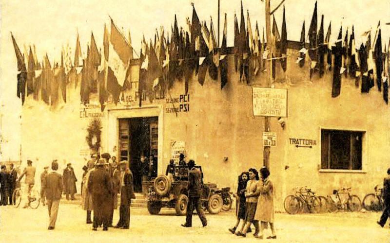 Le case del popolo nella provincia di Ferrara