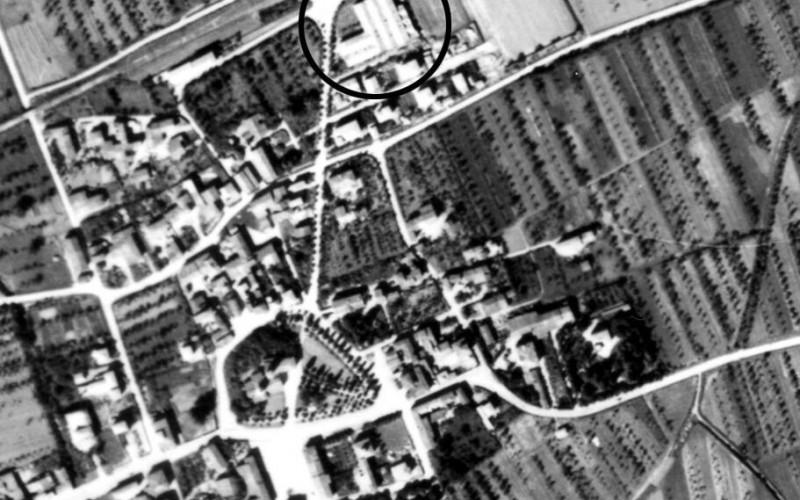 Piazza Lenin a Cavriago