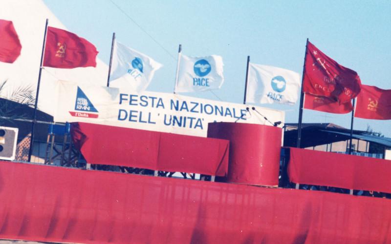 RIMINI, Colonia Bolognese a Miramare. Feste nazionali de L'Unità al Mare del 1984 e del 1985