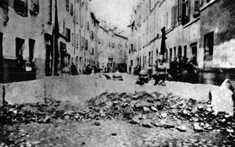 Le barricate del '22