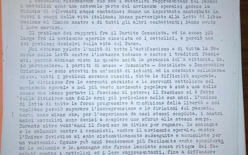 Partito comunista italiano – PCI.  Federazione provinciale di Bologna: pubblicazioni periodiche e dattiloscritti