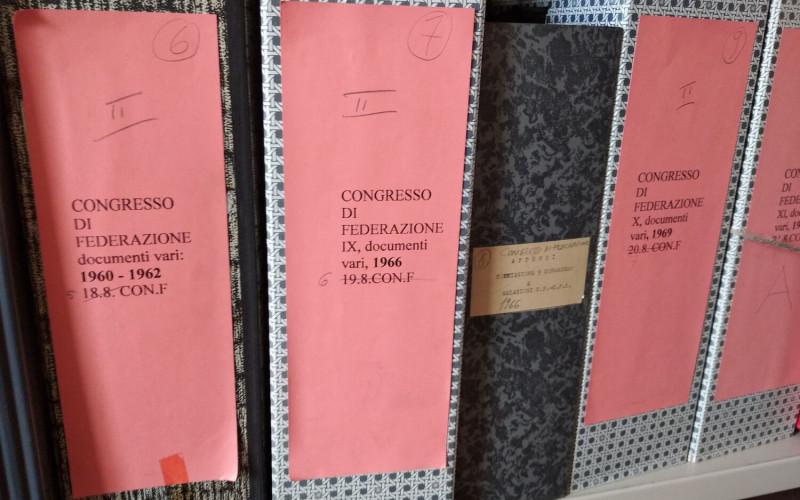 Partito comunista italiano – PCI.  Federazione provinciale di Ferrara